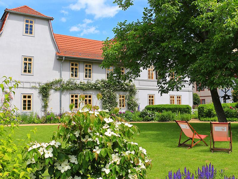 Heiraten im Schillerhaus. Foto: Tom Geiling